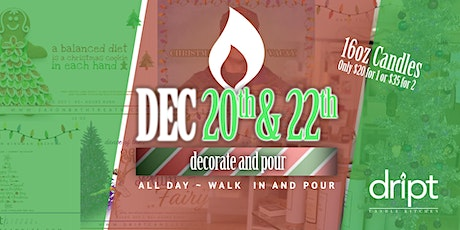 Decorate and Pour at Dript tickets