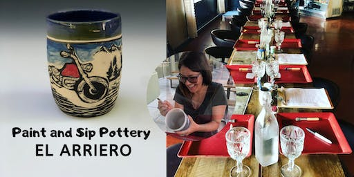 Becki and Friends Pottery Party at El Arriero!