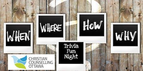Christian Counselling Ottawa Trivia Fun Night tickets