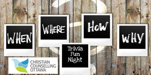 Christian Counselling Ottawa Trivia Fun Night