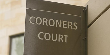 The Role of the Coroner tickets