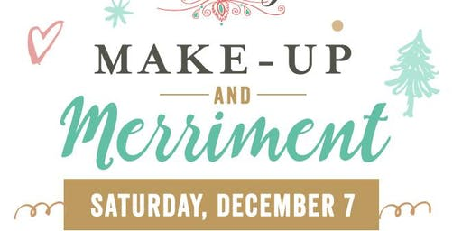 Makeup and Merriment Holiday Party and Shopping Event!