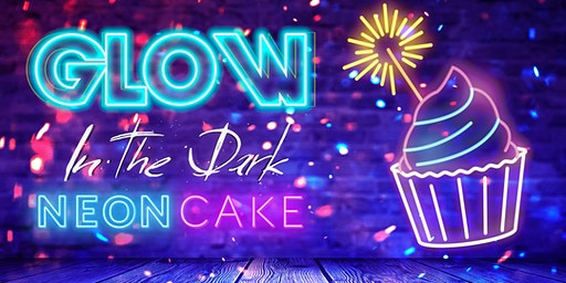 Glow in the Dark: Neon Cake