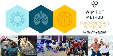 Breathwork, Cold and Mindset : Wim Hof Method Fundamentals Workshop  ingressos
