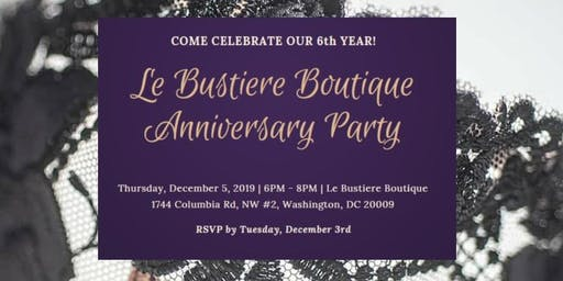 Le Bustiere Boutique Anniversary Party