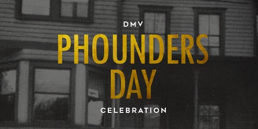 DMV ALPHAS: 7th Annual Phounder's Day Weekend