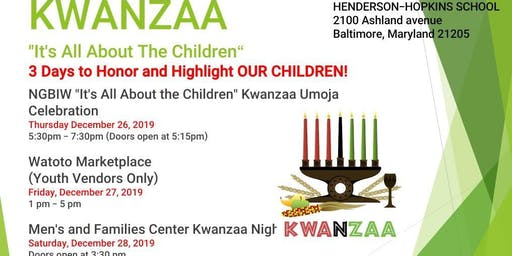 It's All About the Children Kwanzaa Umoja Celebration