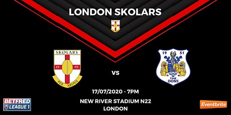 FRIDAY NIGHT LIGHTS: London Skolars vs Doncaster tickets