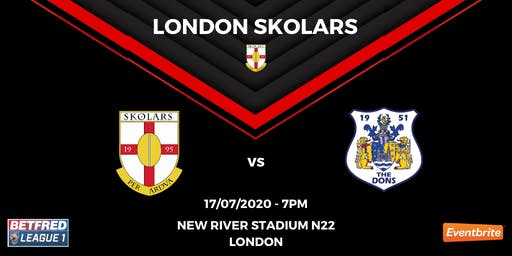 FRIDAY NIGHT LIGHTS: London Skolars vs Doncaster
