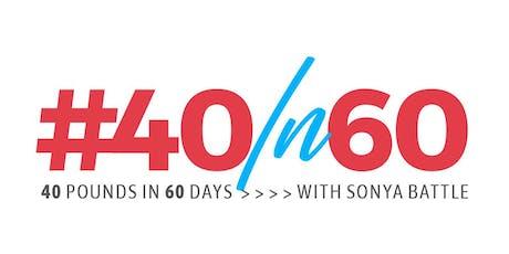 40IN60 Wellness Tour tickets