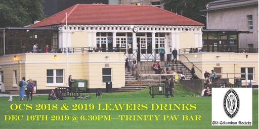 OCS Leavers Drinks - for years 2018 & 2019