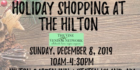 Holiday Shopping at the Hilton 2019 tickets