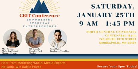 Grit Marketing Conference tickets