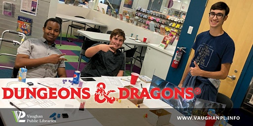 Looking For Group: A D&D Party at Dufferin Clark Library