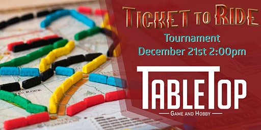 Ticket To Ride Tournament