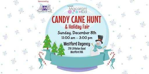 Visit with Santa at Candy Cane Hunt & Holiday Fair