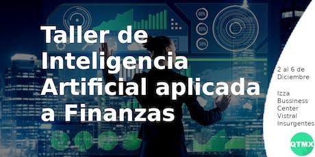 Taller de Inteligencia Artificial aplicada a Finanzas boletos