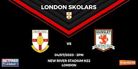London Skolars vs Hunslet tickets