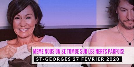 St-Georges 27 février 2020 LE COUPLE Josée Boudreault billets