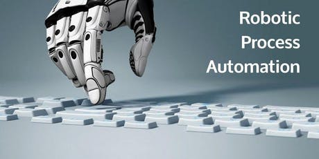 Introduction to Robotic Process Automation (RPA) Training in Canberra tickets