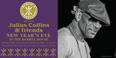 Julius Collins & Friends New Year's Champagne Dinner Show
