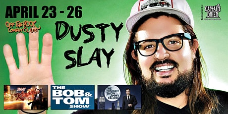 Stand-up Comedian Dusty Slay live in Naples,Fl Off the hook comedy club  tickets
