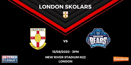 London Skolars vs Coventry Bears tickets