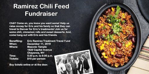 Ramirez Chili Feed Fundraiser