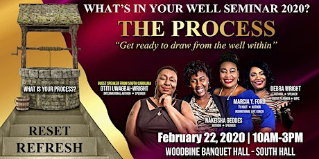 What's In Your Well Seminar 2020 tickets