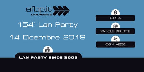 A.F.B.P. 154ma Lan - Dicembre 2019 biglietti