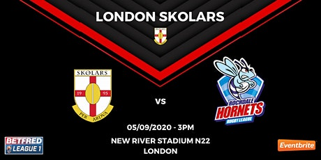 London Skolars vs Rochdale Hornets tickets