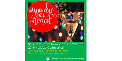 Baltimore City Chamber of Commerce's Holiday Party