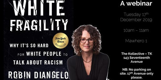 White Fragility with Robin DiAngelo