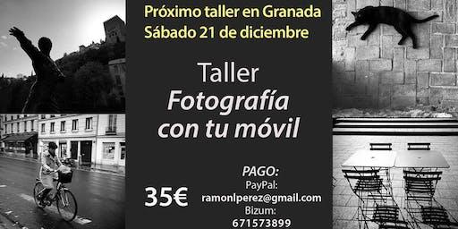 """Taller """"Fotografía con tu móvil"""""""