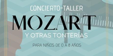 """""""MOZART Y OTRAS TONTERÍAS"""" I TALLER FAMILIAR PARA BEBÉS Y NIÑOS - PASE 1 entradas"""