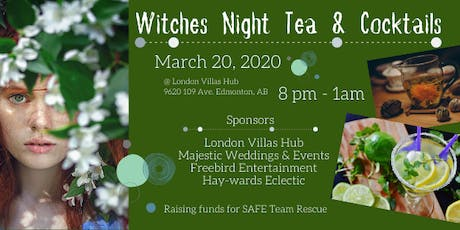 Witches Night Tea & Cocktails tickets