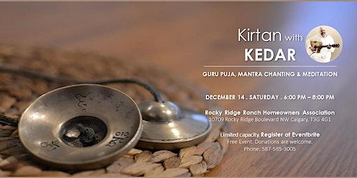 Kirtan with Kedar