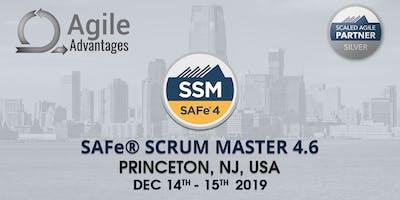 SAFe Scrum Master Training with SSM Certification Princeton, NJ