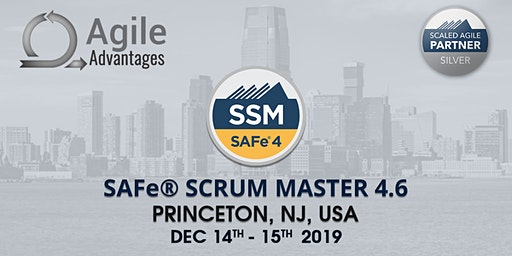 SAFe Scrum Master Training with SSM Certification Princeton, NJ