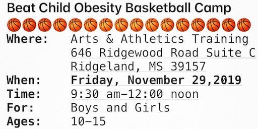 Beat Childhood Obesity Basketball Camp