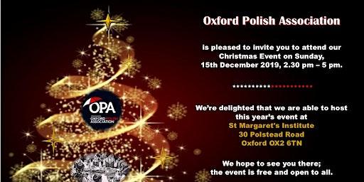 """""""Polish Wigilia"""" in Oxford"""