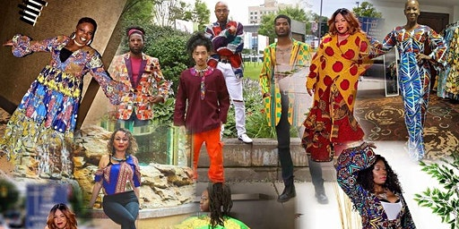 African Fashions pop up; Charlotte NC.