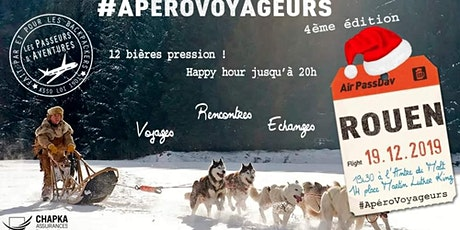 Apérovoyageurs #4 - Rouen billets