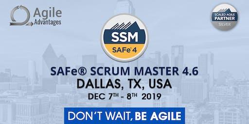 SAFe Scrum Master Training with SSM Certification Dallas, TX