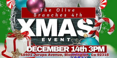 The Olive Branches 4th Christmas Event (FREE EVENT)