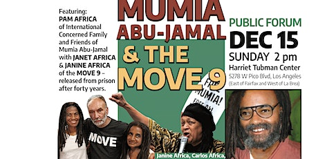 Pam Africa on Mumia Abu-Jamal and the Move 9 with Janet & Janine Africa tickets