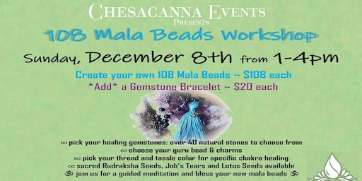 CREATE YOUR OWN MALA 108