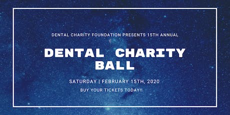 15th Annual Dental Charity Ball tickets