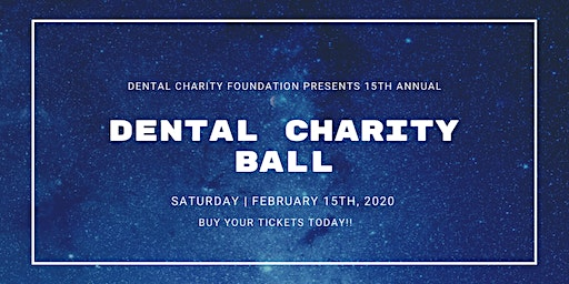 15th Annual Dental Charity Ball
