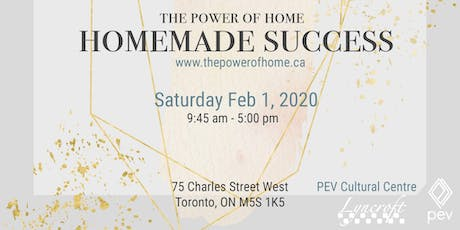 The Power of Home: Homemade  Success tickets